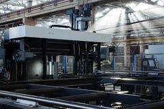 μεταλλουργία μηχανών Στοκ φωτογραφία με δικαίωμα ελεύθερης χρήσης