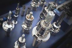 Μεταλλουργικά εργαλεία και τρυπάνια Στοκ φωτογραφία με δικαίωμα ελεύθερης χρήσης