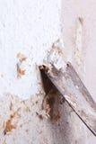 μεταλλουργική ξύστρα στοκ φωτογραφία