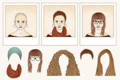 Μεταμόρφωση - κορίτσι Στοκ Εικόνες