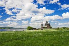 μεταμόρφωση της Ρωσίας kizhi ε Στοκ Εικόνες