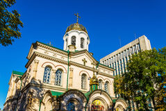 Μεταμόρφωση του Savior, ένας καθεδρικός ναός σε Chisinau Στοκ φωτογραφία με δικαίωμα ελεύθερης χρήσης