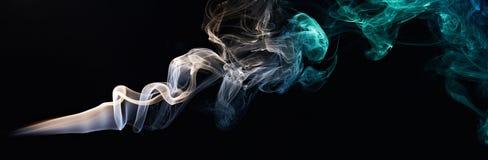 Μεταξωτός καπνός χρώματος Στοκ φωτογραφία με δικαίωμα ελεύθερης χρήσης