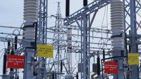 Μετασχηματίζοντας τον υποσταθμό για τη διανομή της ηλεκτρικής ενέργειας φιλμ μικρού μήκους