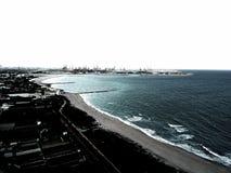 Μετασχηματισμένο seascape στοκ εικόνες με δικαίωμα ελεύθερης χρήσης