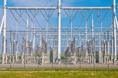 μετασχηματισμός σταθμών παραγωγής ηλεκτρικού ρεύματος Στοκ Εικόνα