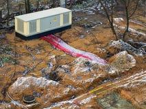 Μετασχηματιστής ηλεκτρικής ενέργειας Στοκ Φωτογραφία
