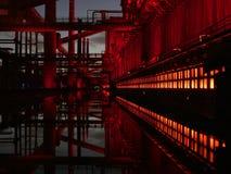 Μετατρέποντας σε κωκ εγκαταστάσεις Zeche Zollverein Έσσεν στοκ εικόνες