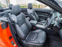 Μετατρέψιμο εσωτερικό Range Rover Evoque Στοκ εικόνες με δικαίωμα ελεύθερης χρήσης