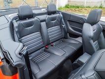 Μετατρέψιμο εσωτερικό Range Rover Evoque Στοκ φωτογραφίες με δικαίωμα ελεύθερης χρήσης