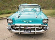 1957 μετατρέψιμο κλασικό αυτοκίνητο Chevrolet Bel Air Στοκ Εικόνες