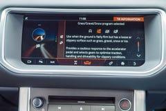 Μετατρέψιμο ταμπλό Range Rover Evoque Στοκ φωτογραφίες με δικαίωμα ελεύθερης χρήσης