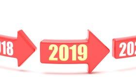 Μετατόπιση έτους απεικόνιση αποθεμάτων