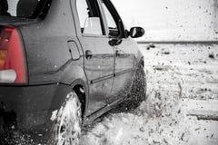 μετατόπιση αυτοκινήτων Στοκ Εικόνα