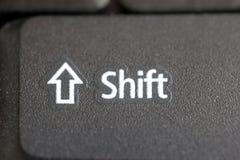 μετατόπιση κουμπιών Στοκ εικόνα με δικαίωμα ελεύθερης χρήσης