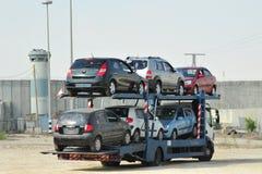 Μεταφορά αυτοκινήτων Στοκ Εικόνα