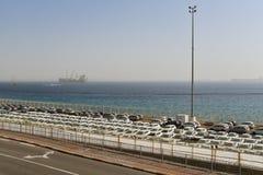Μεταφορά αυτοκινήτων, Eilat, Ισραήλ Στοκ εικόνα με δικαίωμα ελεύθερης χρήσης