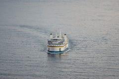 Μεταφορά γραμμών καναλιών Gozo των επιβατών στοκ εικόνα