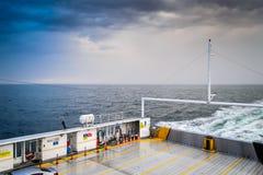 Μεταφορά θάλασσας πορθμείων της Ιστανμπούλ - Τουρκία Στοκ Φωτογραφία