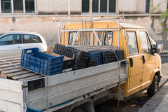 Μεταφορά και εξασφάλιση φορτίων στοκ εικόνες με δικαίωμα ελεύθερης χρήσης