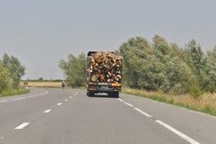 μεταφορά κούτσουρων Στοκ εικόνα με δικαίωμα ελεύθερης χρήσης