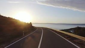 Μεταφορά κυκλοφορίας οδικών οδών απόθεμα βίντεο