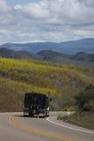 Μεταφορά με φορτηγό μια θερινή ημέρα Στοκ Εικόνα
