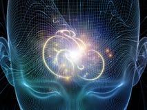 Μεταφορά μυαλού Στοκ Εικόνες