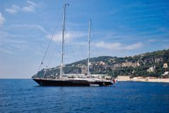 μεταφορά νερού, ψηλό σκάφος, υδάτινη οδός, σκάφος, θάλασσα, πλέοντας σκάφος, ουρανός Στοκ Φωτογραφία