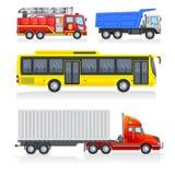 Μεταφορά πόλεων Απεικόνιση αποθεμάτων