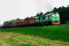 μεταφορά σιδηροδρόμων Στοκ Φωτογραφία