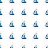 Μεταφορά σκαφών εικονιδίων βαρκών ελεύθερη απεικόνιση δικαιώματος