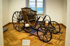 Μεταφορά στην επίδειξη στο παλάτι Nyphenburg στοκ εικόνα