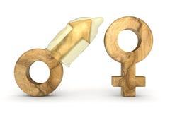 Μεταφορά στο φύλο ασφάλειας Στοκ Εικόνες