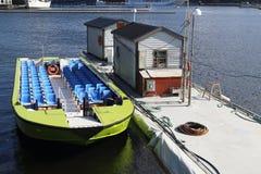 Μεταφορά τουριστών της Στοκχόλμης Στοκ εικόνα με δικαίωμα ελεύθερης χρήσης