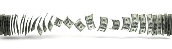 Μεταφορά χρημάτων Στοκ Φωτογραφίες