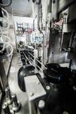 Μεταφορέας ½ Metallicï ¿ στο microbrewery στοκ εικόνες με δικαίωμα ελεύθερης χρήσης