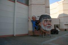 Μεταφορές αλληγορίας καρναβαλιού Viareggio στοκ φωτογραφία