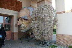 Μεταφορές αλληγορίας καρναβαλιού Viareggio στοκ φωτογραφίες με δικαίωμα ελεύθερης χρήσης