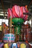 Μεταφορές αλληγορίας καρναβαλιού Viareggio στοκ φωτογραφίες