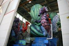 Μεταφορές αλληγορίας καρναβαλιού Viareggio στοκ εικόνες