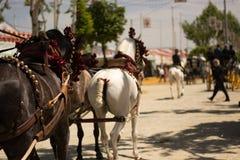 Μεταφορές στη Σεβίλη Ανδαλουσία στοκ εικόνες