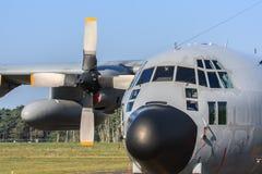 Μεταφορικό αεροπλάνο Hercules Στοκ εικόνες με δικαίωμα ελεύθερης χρήσης