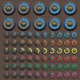 Μεταφορτώστε το εικονίδιο κουμπιών Στοκ εικόνα με δικαίωμα ελεύθερης χρήσης