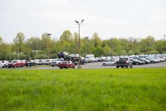 Μεταχειρισμένα οχήματα για την πώληση στο PA - αντιπρόσωποι Ciocca στοκ εικόνα