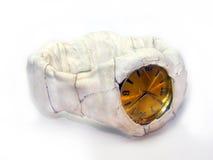 Μετα-αποκαλυπτικό ρολόι Στοκ φωτογραφία με δικαίωμα ελεύθερης χρήσης