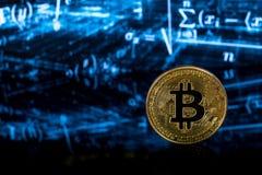 Μεταλλεία Bitcoin Στοκ εικόνες με δικαίωμα ελεύθερης χρήσης