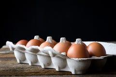 Μεταλλικά κουτιά αυγών Στοκ φωτογραφίες με δικαίωμα ελεύθερης χρήσης