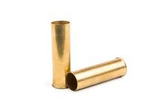 Μεταλλικά κοχύλια κυνηγετικών όπλων Στοκ φωτογραφία με δικαίωμα ελεύθερης χρήσης
