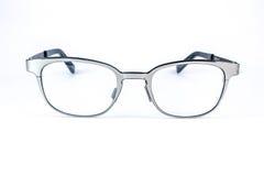 Μεταλλικά οπτικά γυαλιά Στοκ Εικόνες